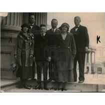 1920 Press Photo Army essay contest winnersBB Mason, ODon Campbell, M Sheets,