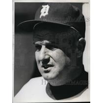 1961 Press Photo Bob Scheffing of Detroit Tigers - nes22726