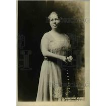 1918 Press Photo Mrs. Abram Simon, Nat'l Pres of federation of temple sisterhood
