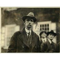 1919 Press Photo Councilman Edward White, Hamilton Law & Order Committee Head