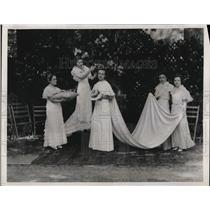 1933 Press Photo Fairmount School in DC C Sylvia, D Van Ormer, J Arthur