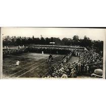 1929 Press Photo Helen Wills vs. Mary Ryan North London Championship