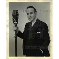 1934 Press Photo Nathaniel Shilkret, celebrated composer, conducter and arranger