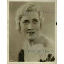 1932 Press Photo Meliada Alexander of NBC