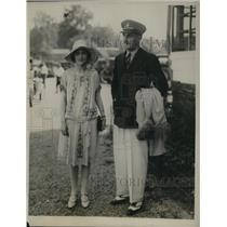 1927 Press Photo Count & Countess E Johnson-Noad of England