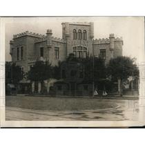 1923 Press Photo Mexico City US Consulate building before a bombing