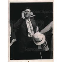 1933 Press Photo Hog Caller John C. Dameron, Chicago World's Fair