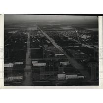 1933 Press Photo Aerial View of a Valley in Texas
