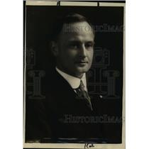 1919 Press Photo Max Thelan Director Public Service U.S Railroad Administration
