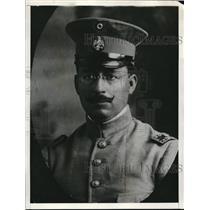 1927 Press Photo General Salvador Alavarado likely to join revolt.