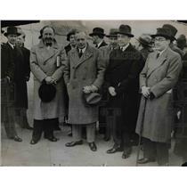 1936 Press Photo Herr von Ribbemstropp Hitlers Amb at Large, Herr von Hoesch