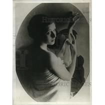1929 Press Photo Senorita Camencita Larrabeti