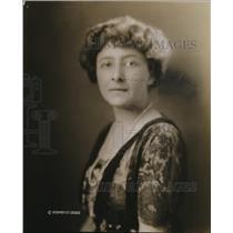 1920 Press Photo Mrs HM Robertson, District Chairman Republican Women's Org