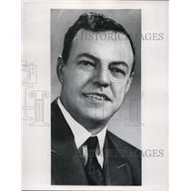 1961 Press Photo JOhn A Roberts RCAF Pilot Canada