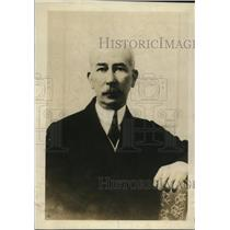 1919 Press Photo Colonel E.M. House, American delegation head