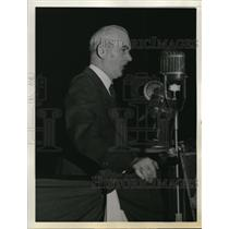 1943 Press Photo Philip Murray Addresses Transport Workers at Rally