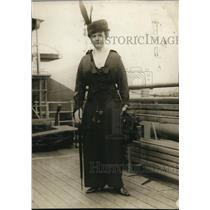 1918 Press Photo Countess Eulenburg daughter of Hon J.R Little of Delaware Ohio
