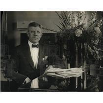 1923 Press Photo Major Omar Clark, appointed Assistant Veteran's Bureau director
