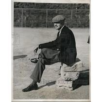 1938 Press Photo Charles Munn of Philadelphia during a tennis match tournament
