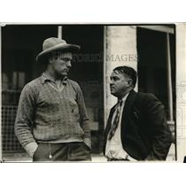 1931 Press Photo Boxer William Stribling and His Father - nes23439