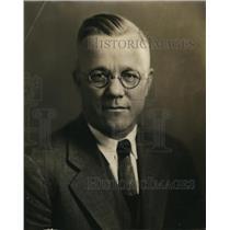 1931 Press Photo Coach E. C. Hayes