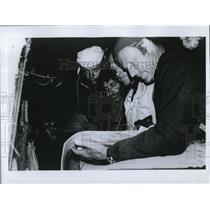 1970 Press Photo Kei Ohara, Senkevich, Santiago Genovese, Baker & Thor Heyerdahl