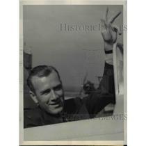 1939 Press Photo Earl H. Ortman, Speed Pilot