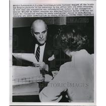1952 Press Photo John Collins, veteran business manager of Brooklyn Dodgers