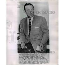 1955 Press Photo Eddie Price