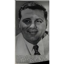 1954 Press Photo Woody Hayes, Ohio State Football Coach.