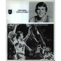 Press Photo John Kuester of Kansas City Kings