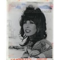1973 Press Photo Stefanie Powers, actress