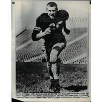 1952 Press Photo Joe Collier-Northwestern