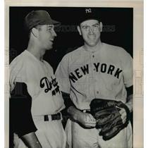 1947 Press Photo Floyd Bill Bevens New York Yankees
