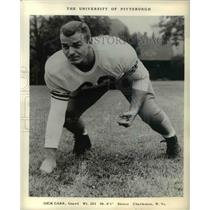1957 Press Photo Dick Carr, University of Pittsburgh guard