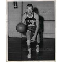 1960 Press Photo Bob Bowling, Stanford University guard