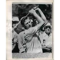 1966 Press Photo Doug Sanders, professional golfer at Firestone Country Club.