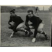 1935 Press Photo Vic Markov, tackle & brother Ted, end of University of Wash