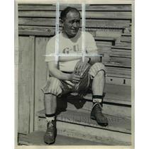 1939 Press Photo John W Puggy Hunton Ganzaga university mentor