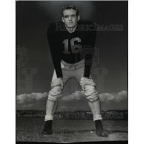 1954 Press Photo Bob Dunn University of Washington Halfback