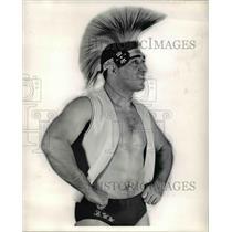 1962 Press Photo Indian Billy White Way