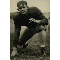 1938 Press Photo Henry Huovila Washing State College  football guard