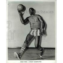 Press Photo Doug Himes of the Harlem Globetrotters