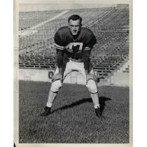1957 Press Photo Albert R. Al Dorow Michigan State Quarterback