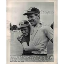 1965 Press Photo Curt Littler 11 dad Gene Littler