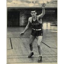 Undated Press Photo Wrestler Merle Fisher of The University of Idaho