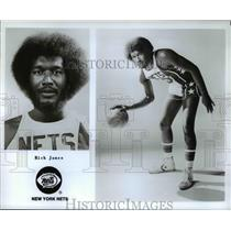 Undated Press Photo Rich Jones of the New York Nets