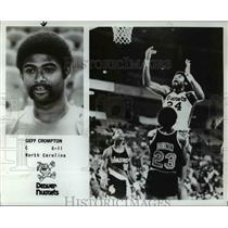 Press Photo Geff Crompton of Denver Nuggets