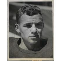 1943 Press Photo Art Honegger, University of California backfield star