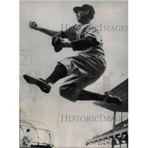 1950 Press Photo Mike Goliat, Philadelphia Phillies Baseball Second Baseman